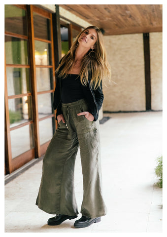 Jaase 'Allie' Pants in Khaki