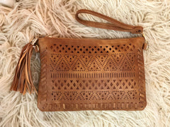 Free Spirit 'Aztec' Clutch / Shoulder Bag