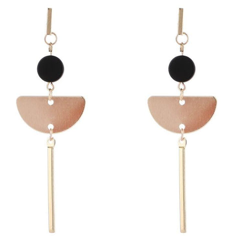 Alcar 'Half Circle' Earrings