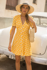 Seven Wonders 'Frankie' Dress in Marigold