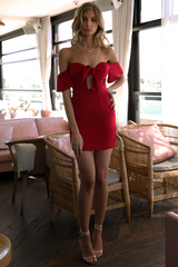 Runaway 'Gigi' Mini Dress in Red