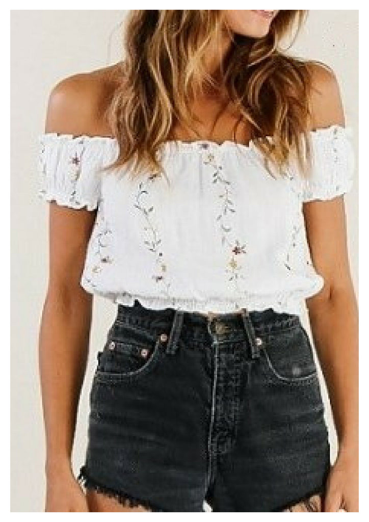 Mia 'Ashley' Top in Floral