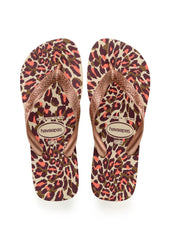 Havaianas 'Top Animals' in Beige / Rose Gold