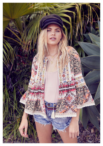 Jaase 'Belmont' Jacket in Estelle Print