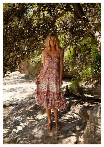 Jaase 'Madeline' Maxi Dress in Estelle Print