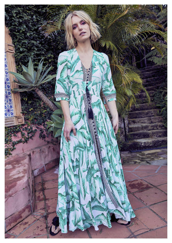 Jaase 'Indiana' Maxi Dress in Aloha Print