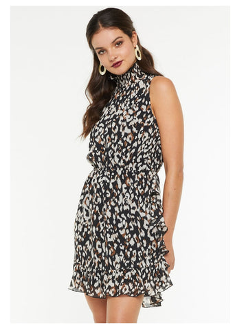 IDS 'Catherine' Dress in Leopard