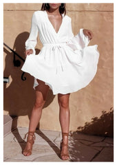 Mia 'Samantha' Dress in White
