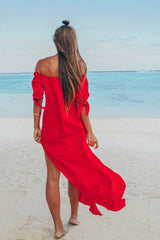 Sundays 'Lola' Dress in Red