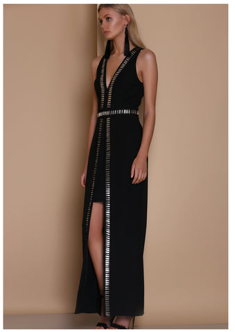 Premonition 'Dimmed Light' Maxi Dress