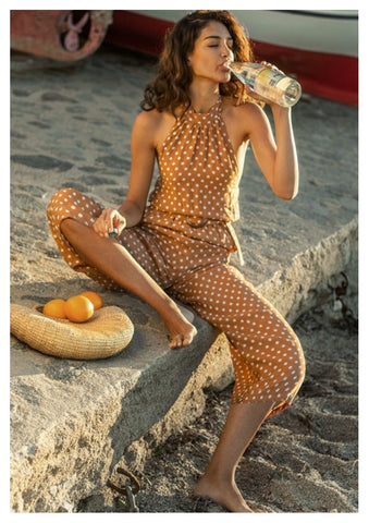 Seven Wonders 'Julia' Jumpsuit in Rust Spot