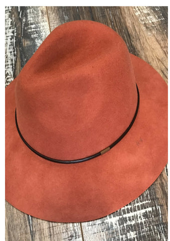 Free Spirit Wool Panama Hat
