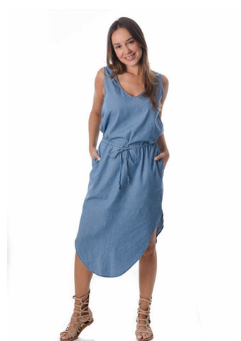 Free Angel 'Zoey' Chambray Dress