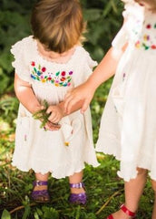 Organic Cotton Handmade Dresses from Peru 'Talla Dress'