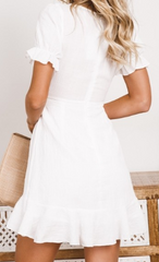 Shareen Collections 'Lolita' Dress in White