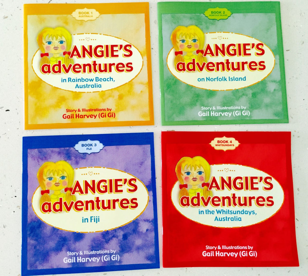 Angie's Adventures Book Series Including all 4 Books