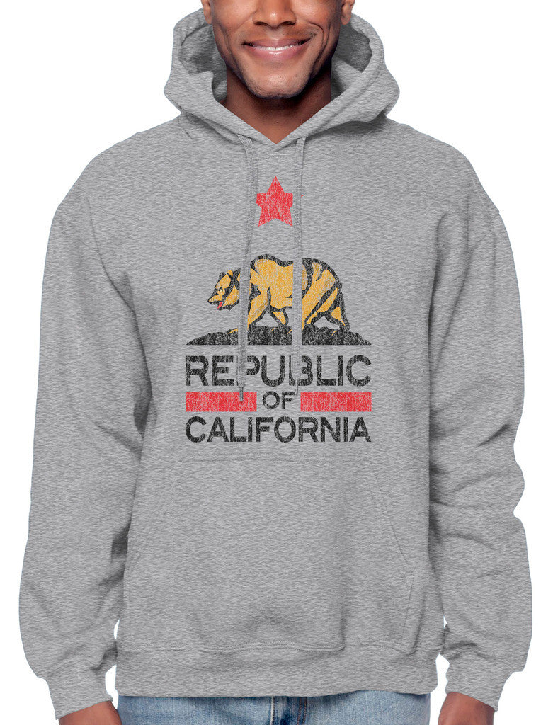 Republic Of California Sweatshirt Hoodie Hoody