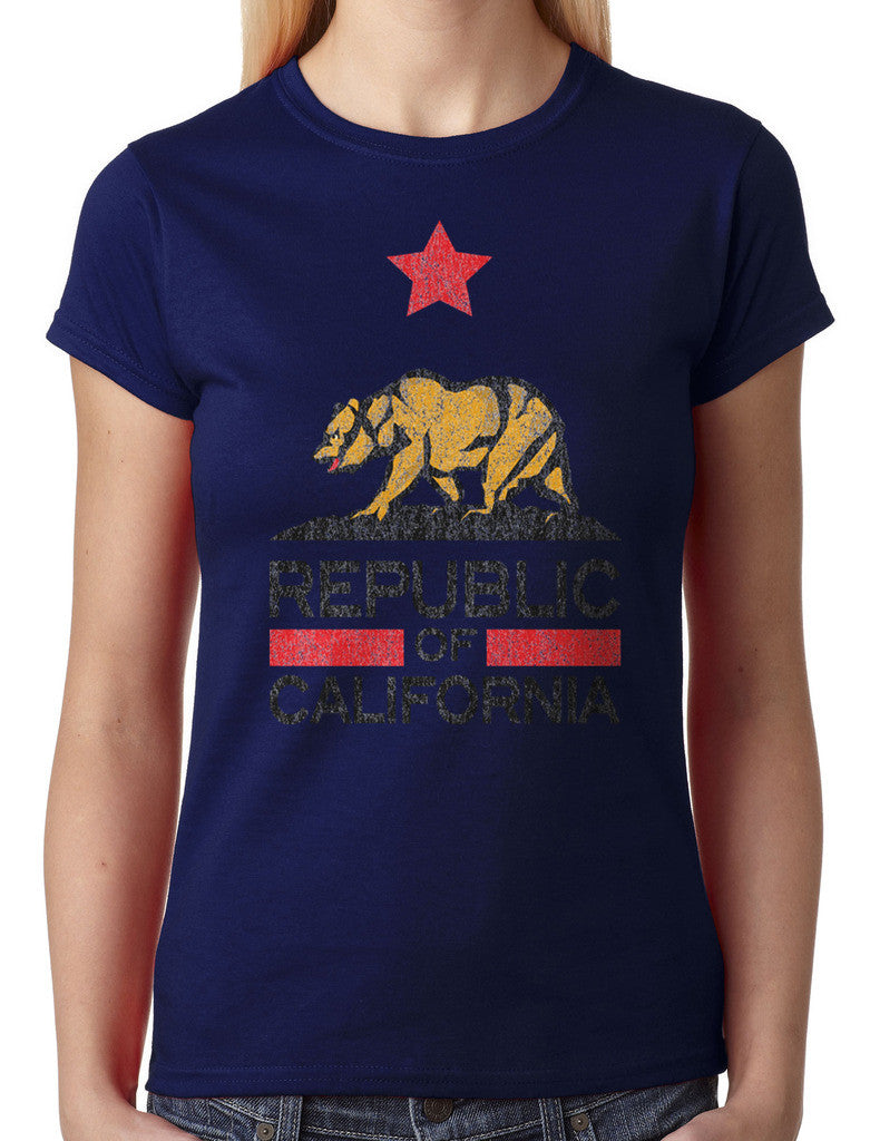 Republic Of California Junior Ladies T-shirt