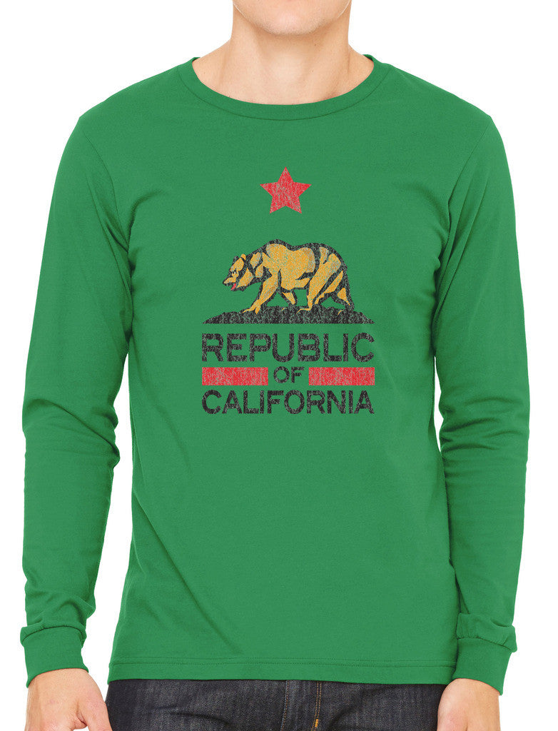 Republic Of California Men's Long Sleeve T-shirt