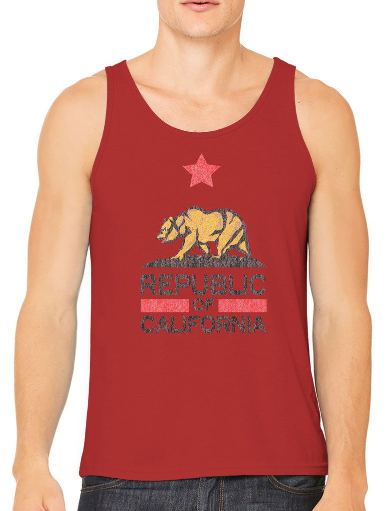 Republic Of California Men's Tank Top