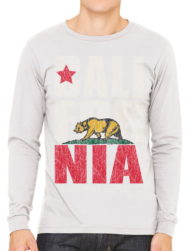 Cali For Nia California Republic Men's Long Sleeve T-shirt
