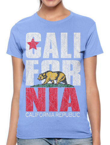 Sexy Marilyn Monroe California Republic Women's T-shirt