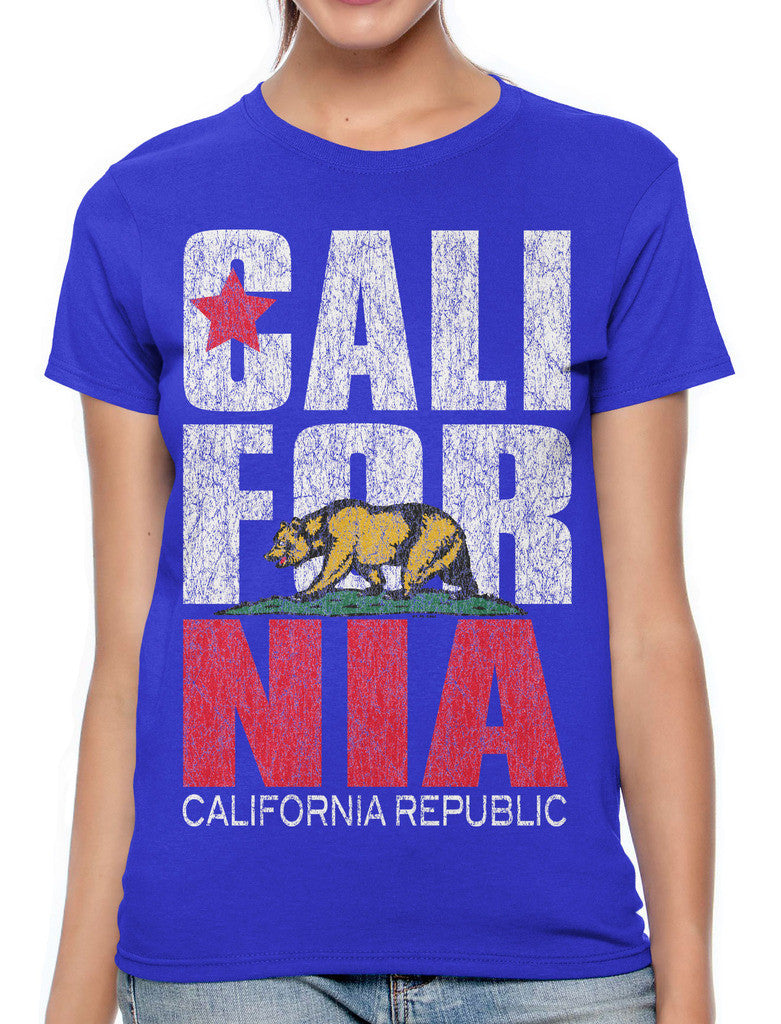 Cali For Nia California Republic Women's T-shirt