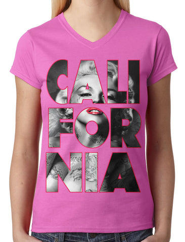 Cash Money Shades Sunglass Junior Ladies V-neck T-shirt