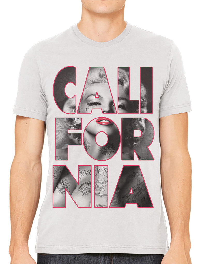 Marilyn Monroe Cali For Nia California Men's T-shirt
