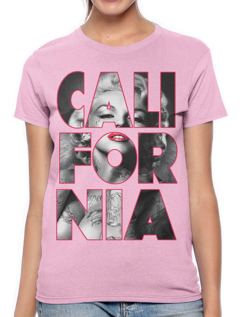 Marilyn Monroe Cali For Nia California Women's T-shirt