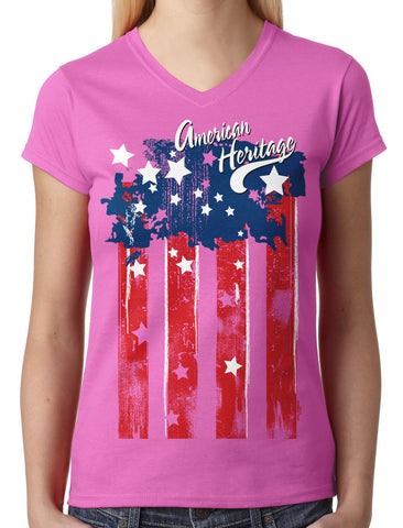 Classy Marilyn Monroe Boombox Junior Ladies V-neck T-shirt