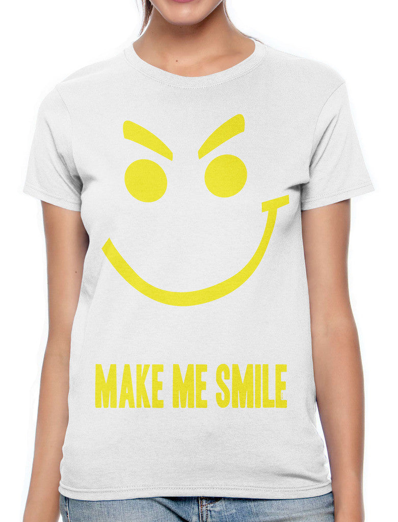 Boobies Make Me Smile Women's T-shirt