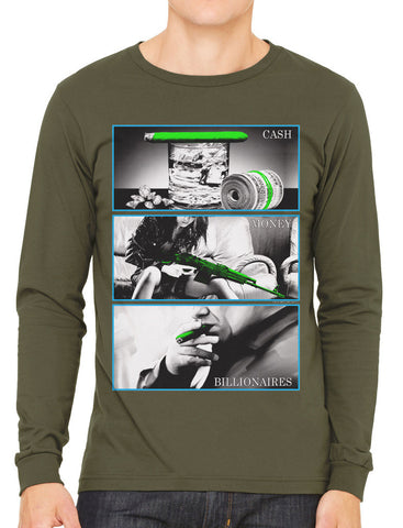 Marilyn Monroe Cali Life Men's Long Sleeve T-shirt
