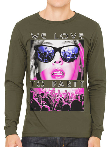 Sexy Marilyn Monroe California Republic Men's Long Sleeve T-shirt