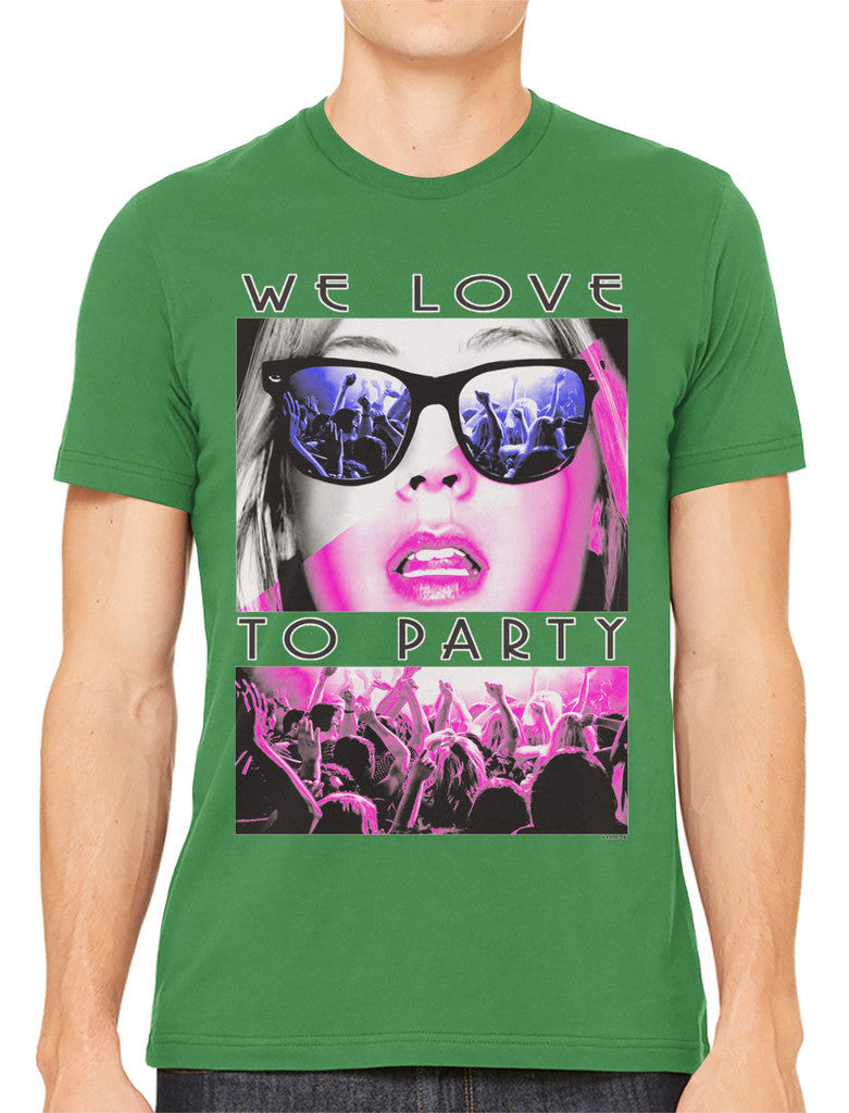 We Love To Party Men's T-shirt