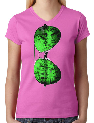 90's People Get It Cassette Tape Junior Ladies V-neck T-shirt