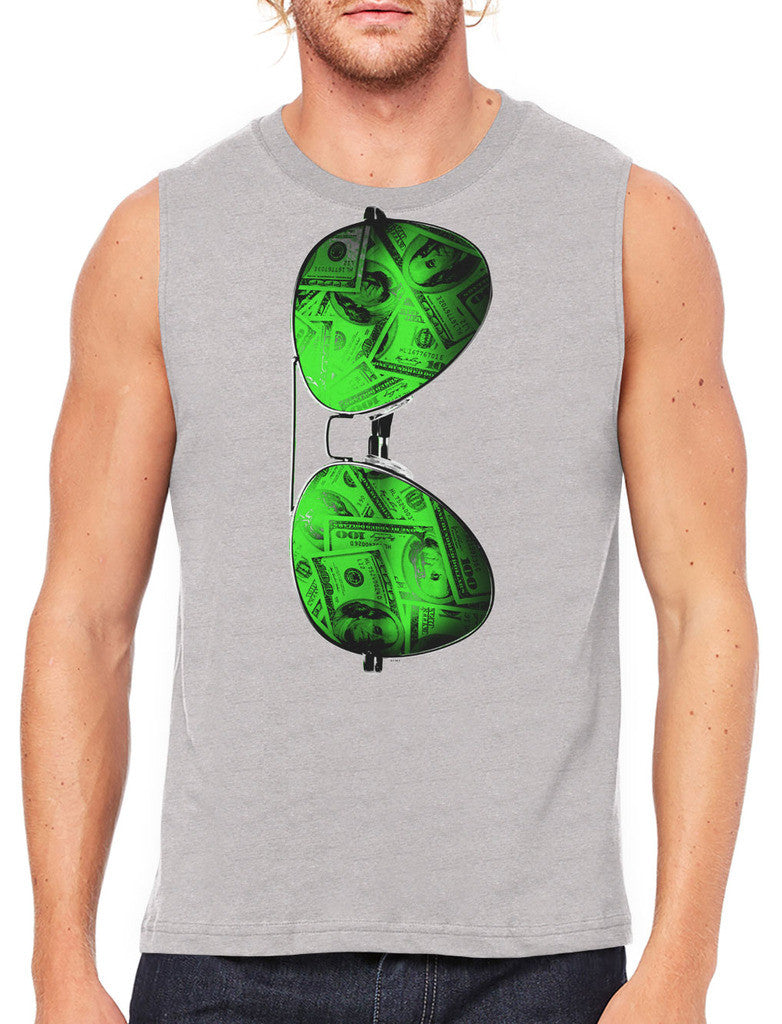 Cash Money Shades Sunglass Men's Sleeveless T-Shirt