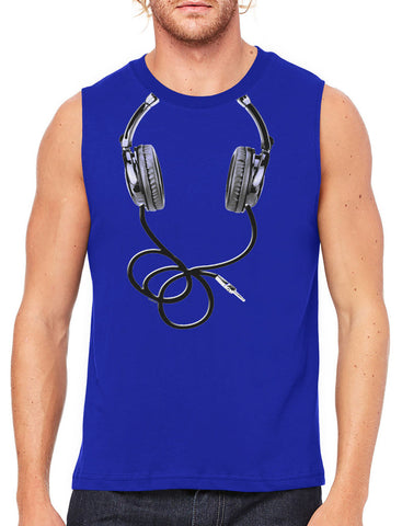 Classy Marilyn Monroe Boombox Men's Sleeveless T-Shirt