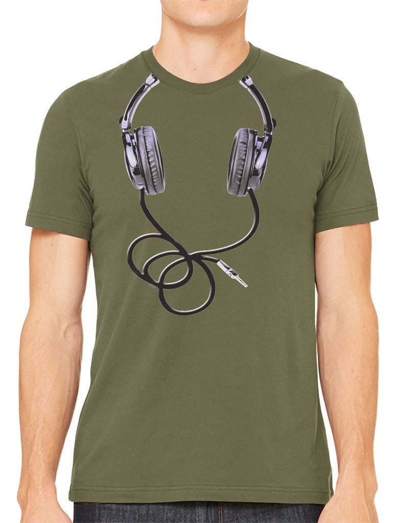 Over Size Headphones Men's T-shirt