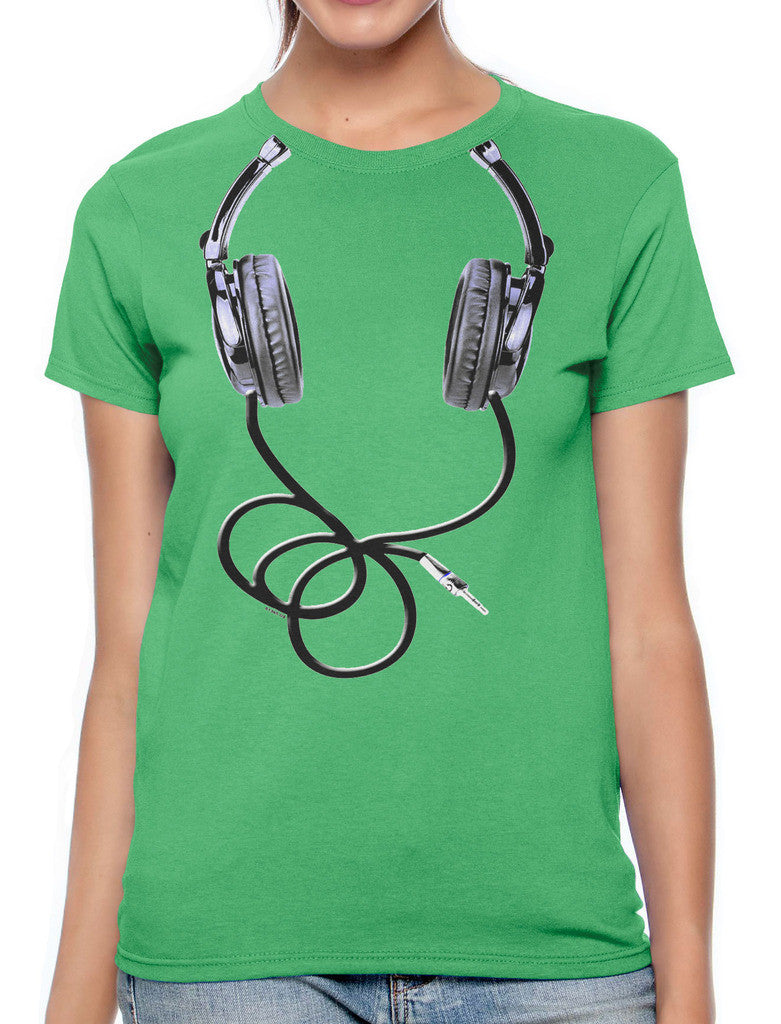 Over Size Headphones Women's T-shirt