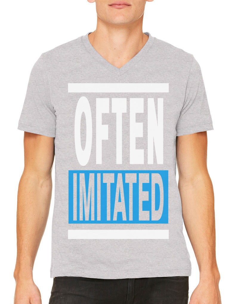 Often Imitated Men's V-neck T-shirt