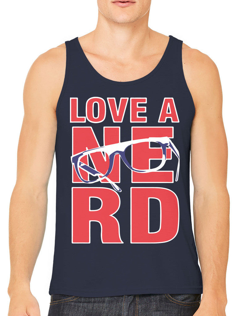 Love A Nerd Men's Tank Top