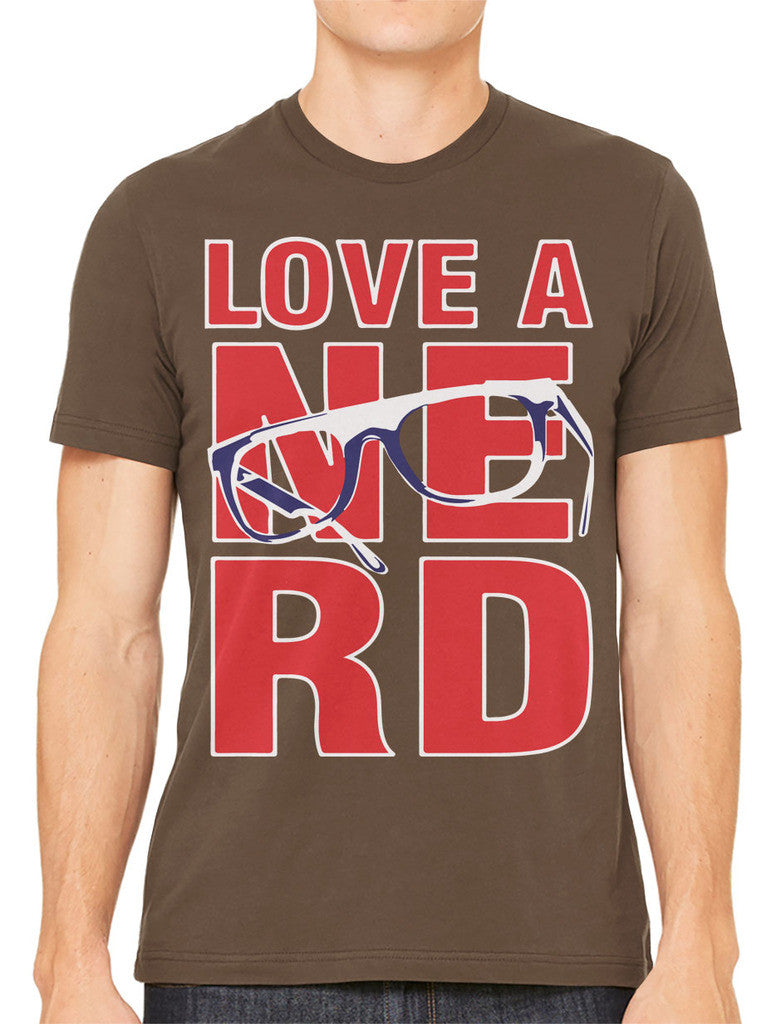Love A Nerd Men's T-shirt