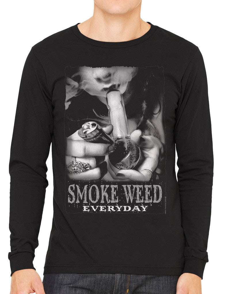 Smoke Weed Everyday Men's Long Sleeve T-shirt