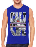 Marilyn Monroe Cali Life Men's Sleeveless T-Shirt