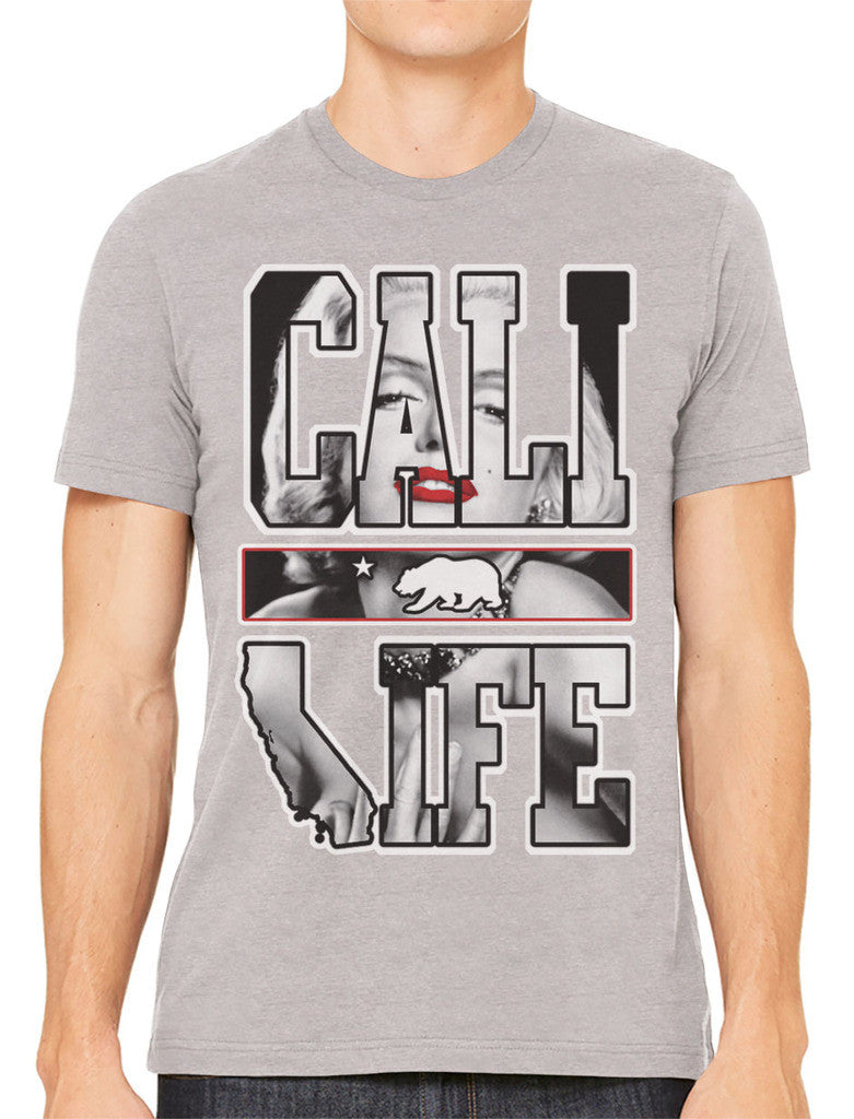 Marilyn Monroe Cali Life Men's T-shirt