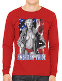 American Pride Marilyn Monroe Men's Long Sleeve T-shirt
