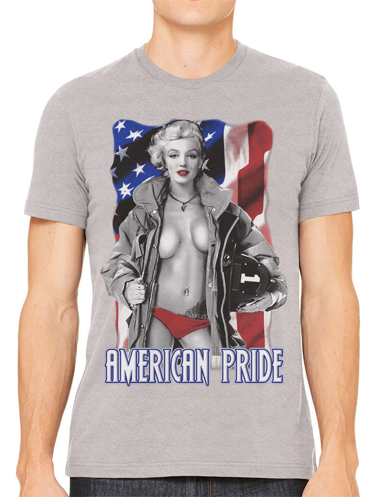 American Pride Marilyn Monroe Men's T-shirt