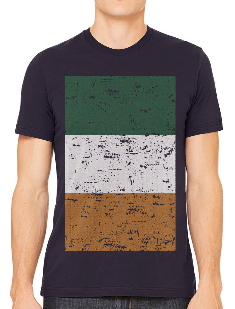Big Faded Ireland Flag Men's T-shirt