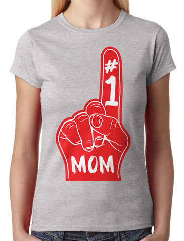 Number 1 Mom Women's T-shirt